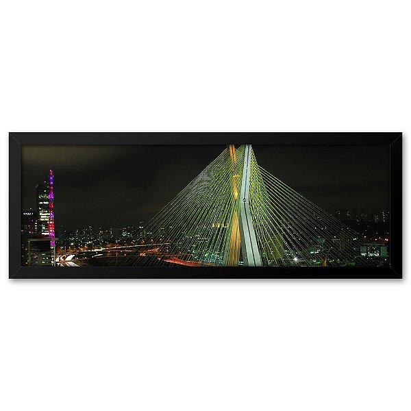 Quadro 60x20 Ponte Estaiada São Paulo