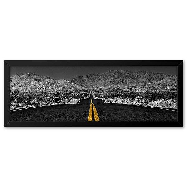 Quadro 60x20 Estrada Califórnia