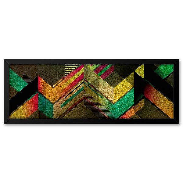 Quadro 60x20 Geométrico Colors