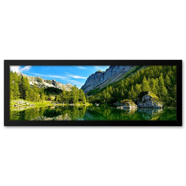 Quadro 60x20 Lago na Eslovênia