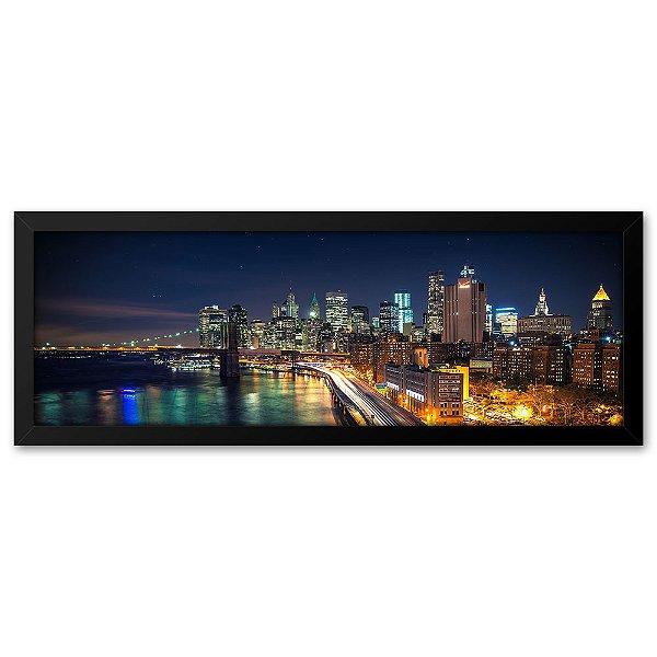 Quadro 60x20 Manhattan Nova Iorque