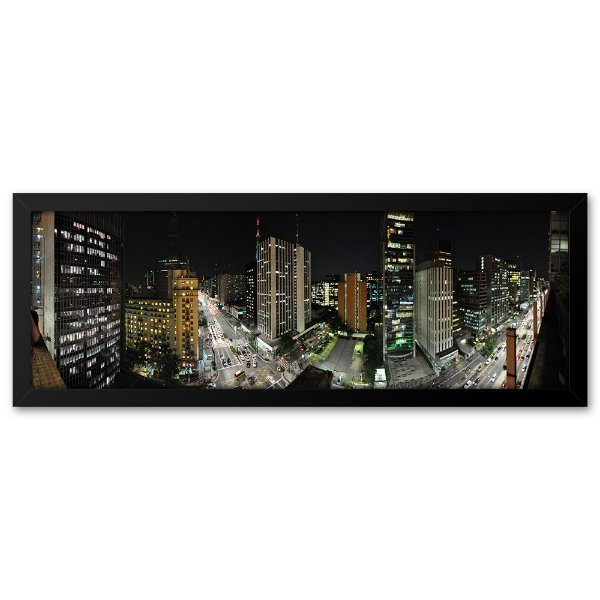 Quadro 60x20 Avenida Paulista São Paulo