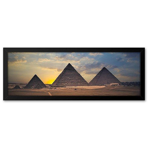 Quadro 60x20 Pirâmides Egito