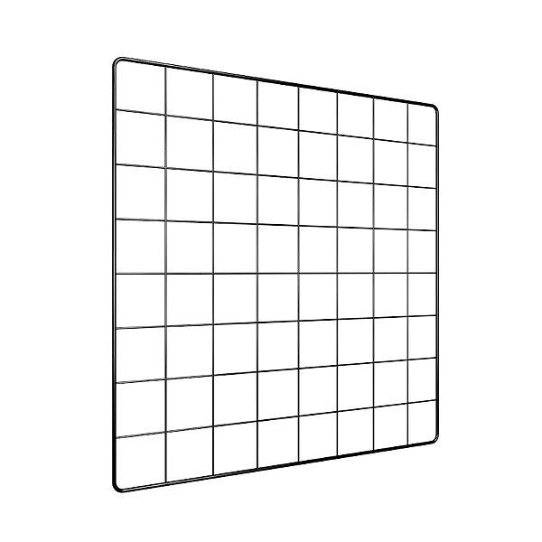 Memory Board Adoraria Aramado 40x40 Preto