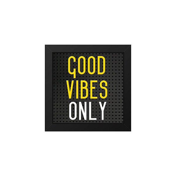 Placa de Letras Plugg Good Vibes