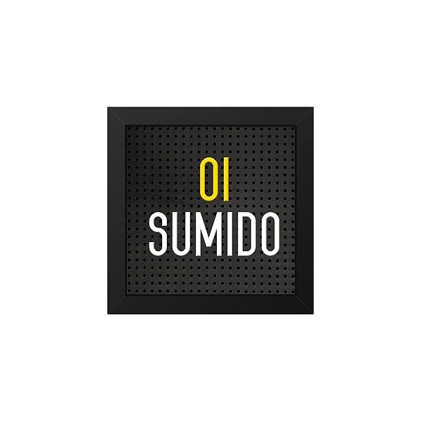 Placa de Letras Plugg Oi Sumido(a)