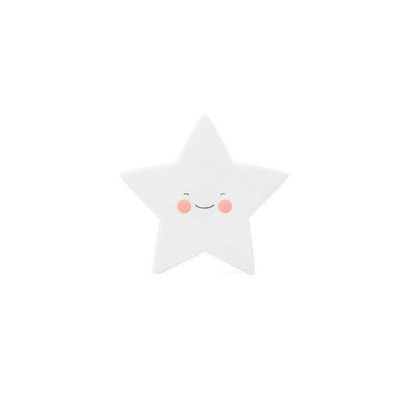 Mini Luminária Estrela Branca