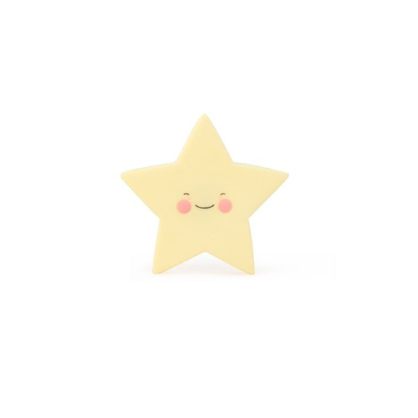 Mini Luminária Estrela Amarela