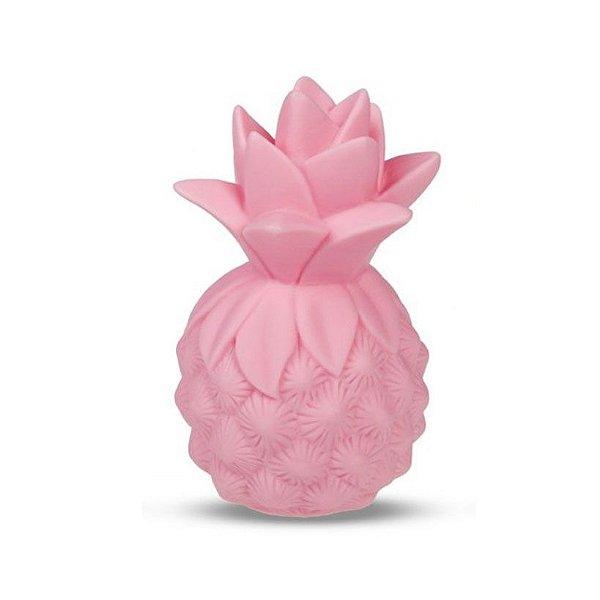 Mini Luminária Abacaxi Rosa
