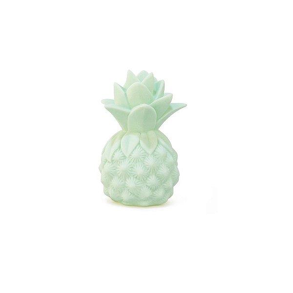 Mini Luminária Abacaxi Verde