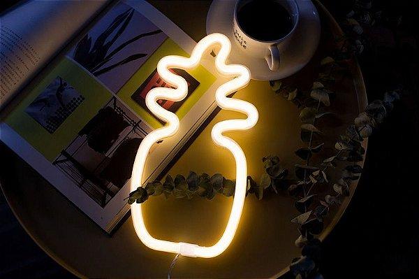 Luminária Neon Abacaxi