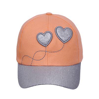Boné Bordado Corações
