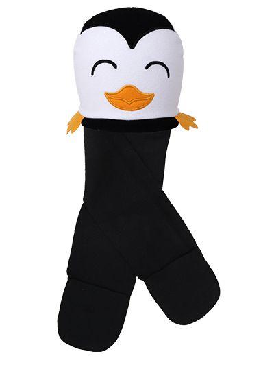 Touca Cachecol Pinguim