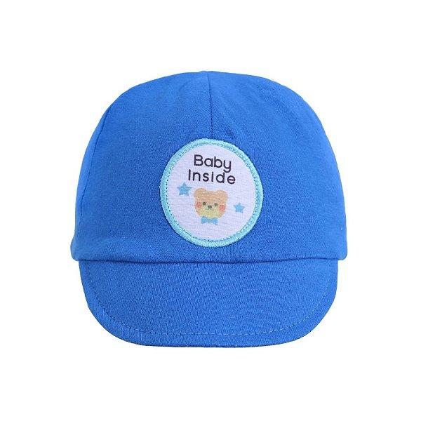 Boné RN baby inside azul