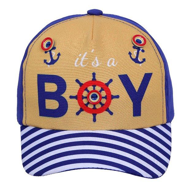 Boné Baby Marinheiro