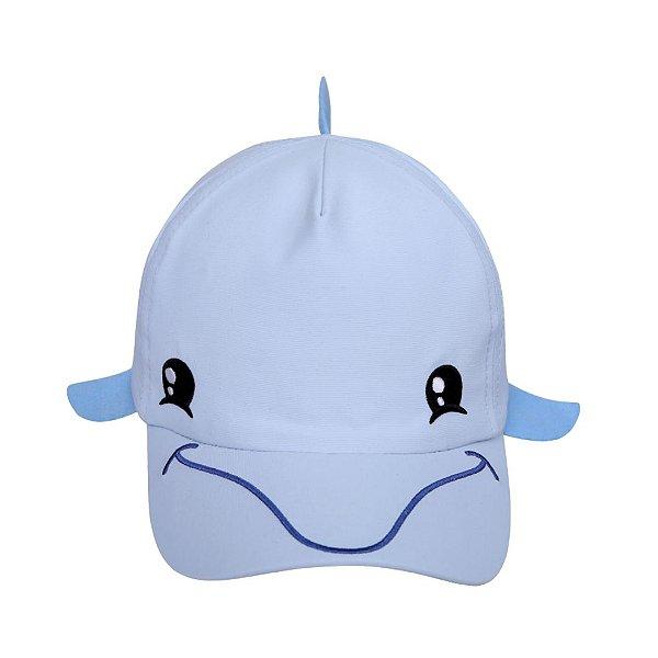 Boné bebê golfinho