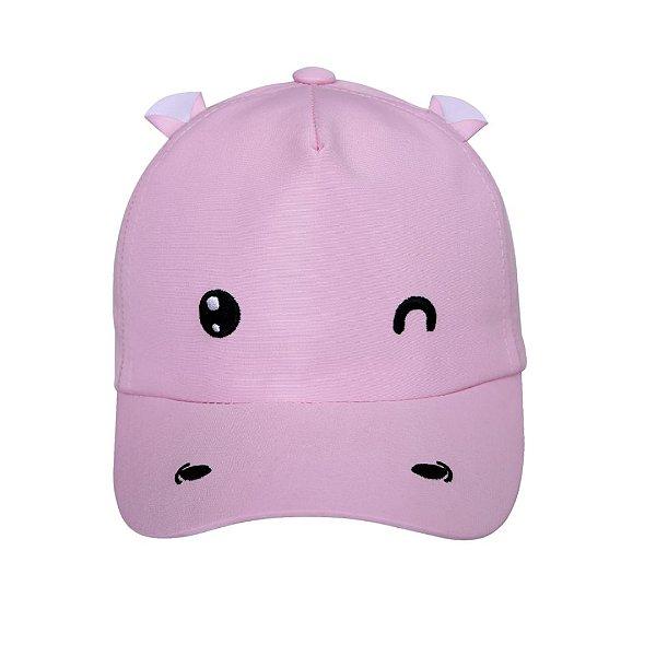 Boné bebê hipopótamo