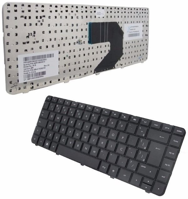Teclado Notebook Hp Pavilion G4 G6 Cq43 643263-201 2b-41703q110 Com Ç