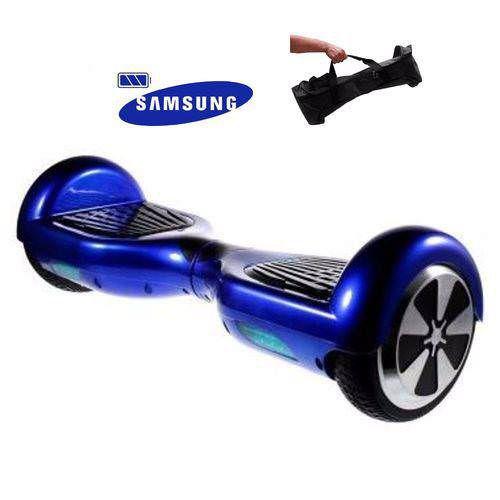 Hoverboard Smart Balance Scooter Skate Bateria Samsung Bivolt - Azul