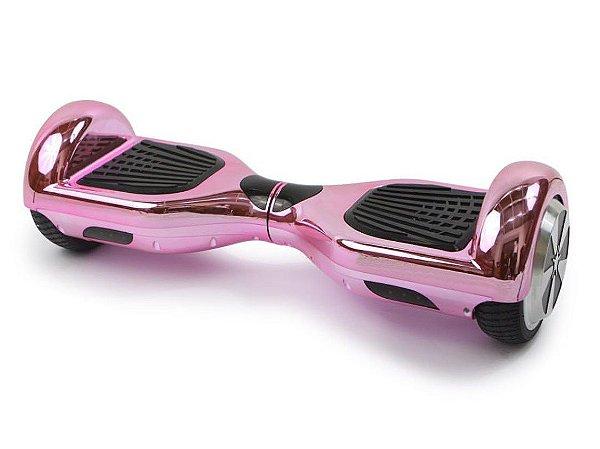 Hoverboard Smart Balance Scooter Skate Bateria Samsung Bivolt - Rosa