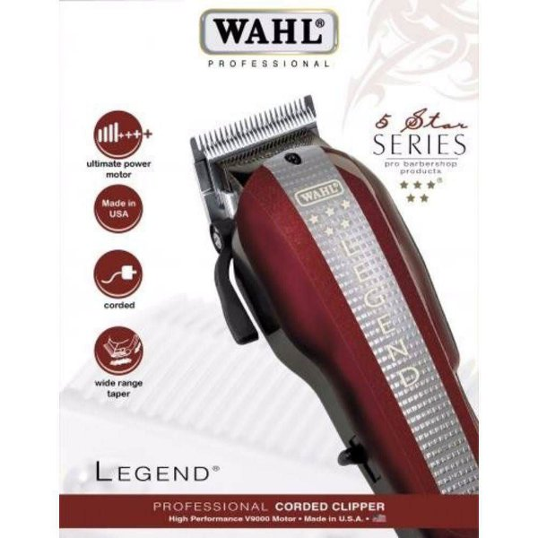 Máquina De Corte Wahl Legend V9000 Five Star SerieS - 110V