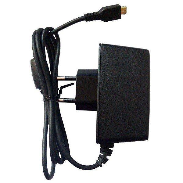 Carregador Fonte Tablet Qbex Zupin Tx120 Micro Usb V8 5v 2a - Bivolt