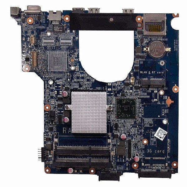 Placa Mãe Do Notebook Itautec Infoway A7520 A7420 VGA USB HDMI REDE AMD C-60