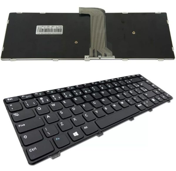 Teclado Compatível Notebook Dell Inspiron 14 3421 14r 5421 Vostro 2421