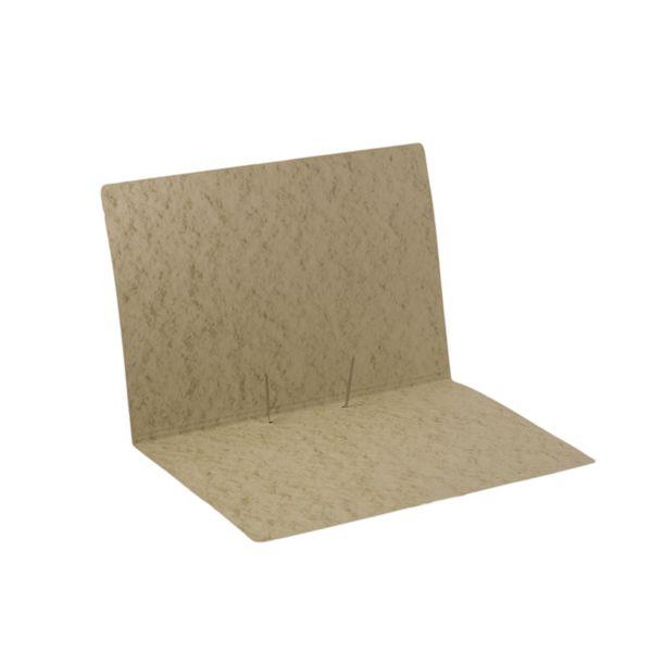 Pasta intercaladora, cartão timbó 350g, com grampo metálico - 100 un