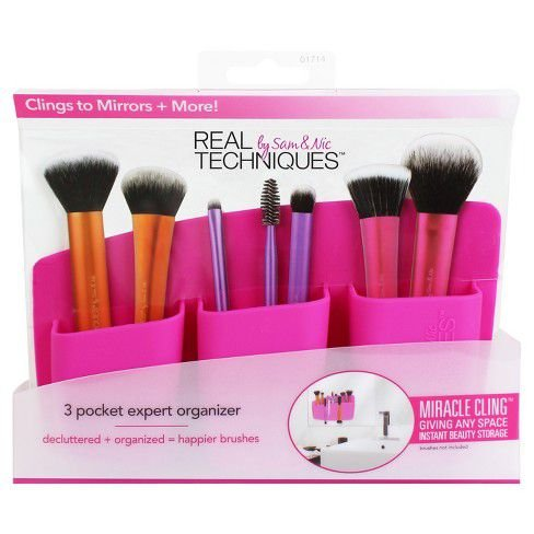 Real Techniques -  3 Pocket Expert Beauty Organizer