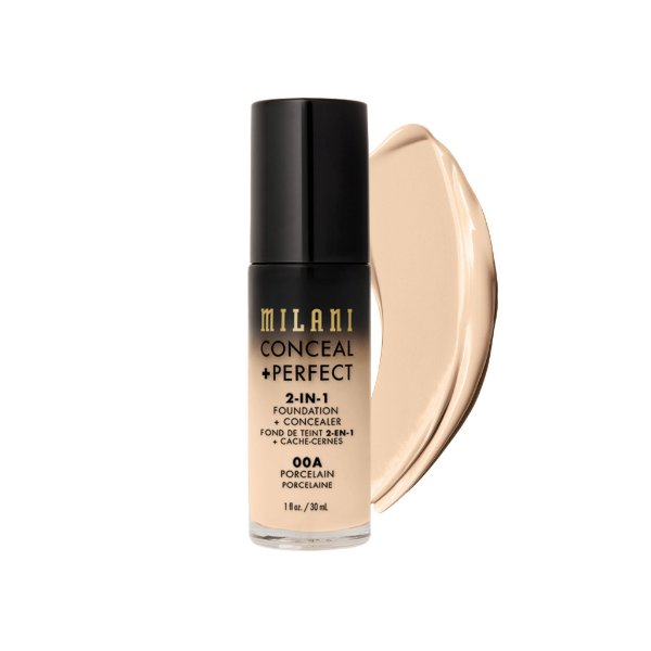 Milani - Base + Corretivo - Perfect 2-In-1 - 00A - Porcelain