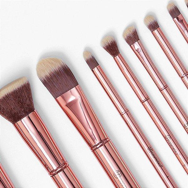 Bh Cosmetics - Kit De Pincéis 11 - Metal Rose