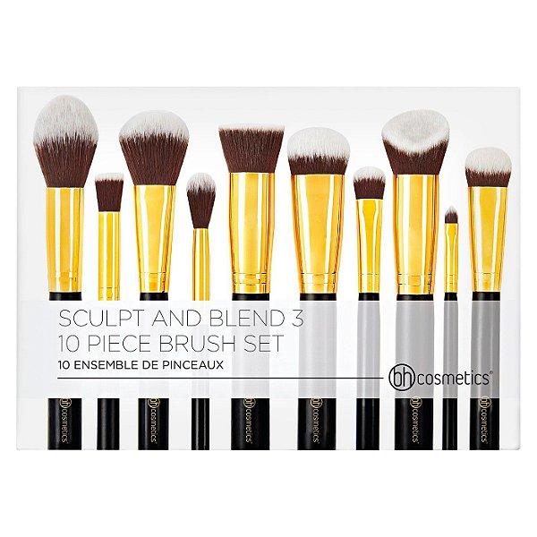 Bh Cosmetics - 10 Piece Brush Set - Sculpt And Blend 3