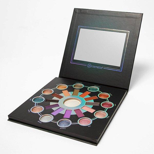 Bh Cosmetics - Paleta Zodiac 25 Color Eyeshadow Highlighter