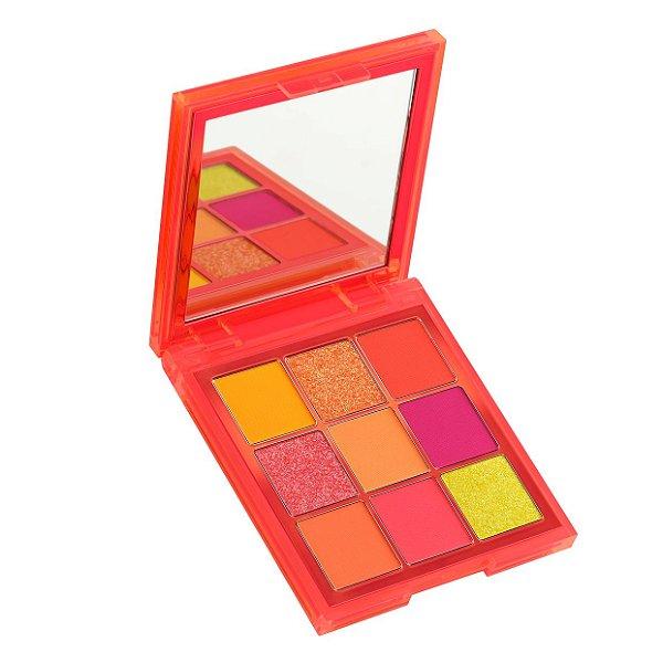 Huda - Paleta Neon Obsessions - Neon Orange