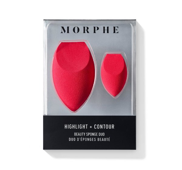 Morphe - Esponja Dupla - Highlight + Contour Beauty