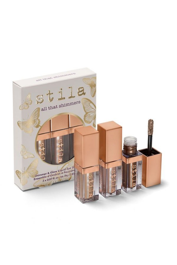 Stila - Kit Com 3 Sombras - All That Shimmers