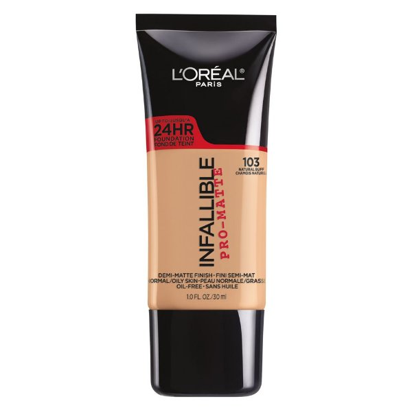 L'Oreal - Base Infallible Pro-Matte - Natural Buff 103