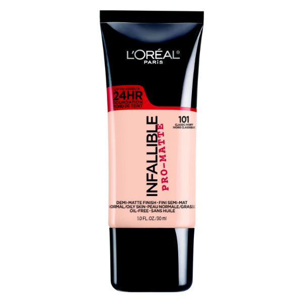 L'Oreal - Base Infallible Pro-Matte - Classic Ivory 101
