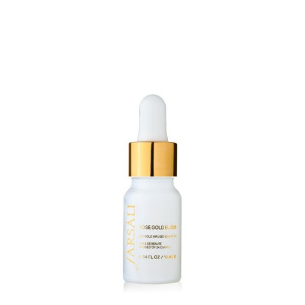 Farsáli - Rose Gold Elixir - 24k Gold Infused Beauty Oil - 10ml