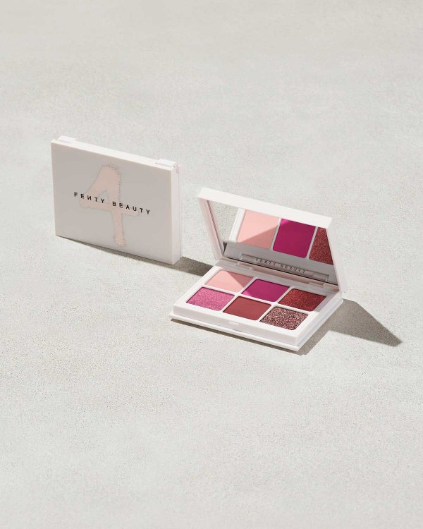 Fenty Beauty - Paleta Snap Shadows Mix & Match - 4 - Rose