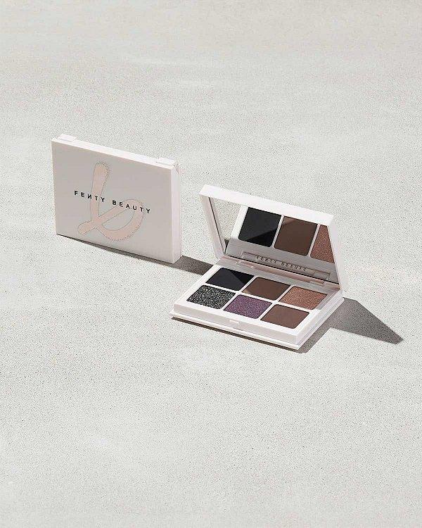 Fenty Beauty - Paleta Snap Shadows Mix & Match - 6 - Smoky
