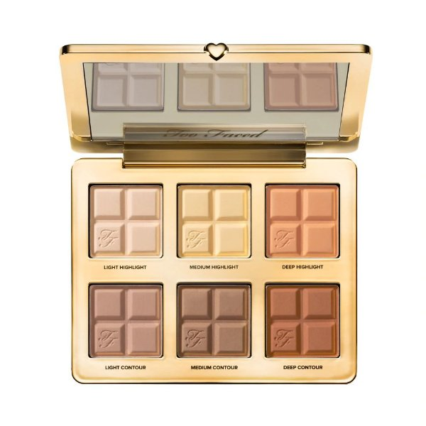 Too Faced - Paleta de Contorno Cocoa