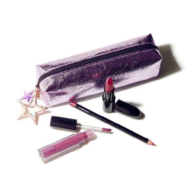 MAC - Kit Starlit Lip Bag - Plum