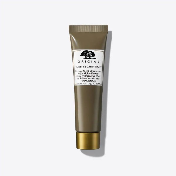 Origins - Hidratante Plantscription - Retinol Night Moisturizer With Alpine Flower - 30ml