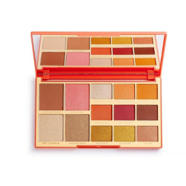 Makeup Revolution  - Paleta Revolution X Rachel Leary - Goddess On The Go