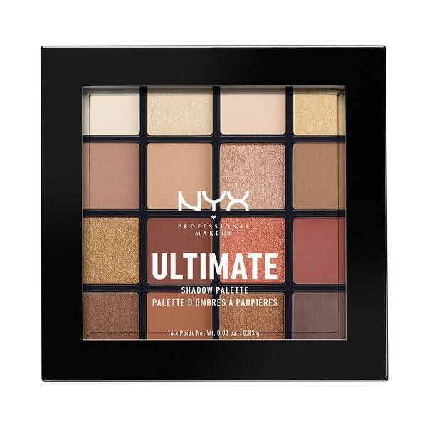 Nyx - Paleta Ultimate Shadow  - Warm Neutrals