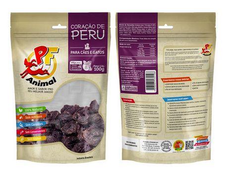 Petisco Coração de Peru 100gr