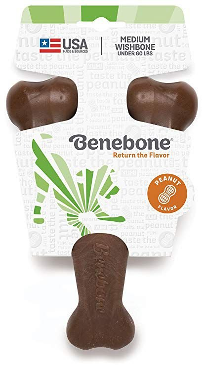 Benebone Wishbone para Roer - PASTA DE AMENDOIM