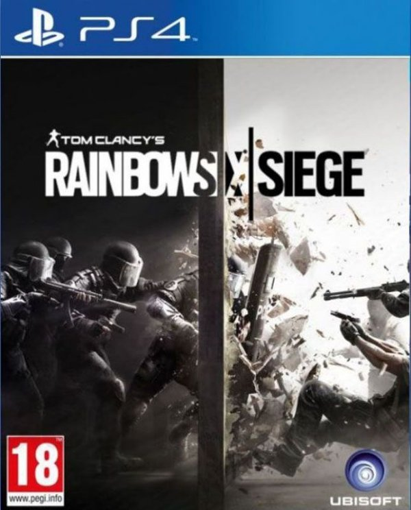 Tom Clancy's Rainbow Six Siege - PS4 - Mídia Digital